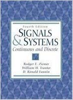 Signals and Systems 3 ED by Rodger E Ziemer 0024316415