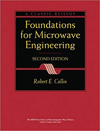 Foundations for Microwave Engineering 2 ED by Robert E Collin 0070118116