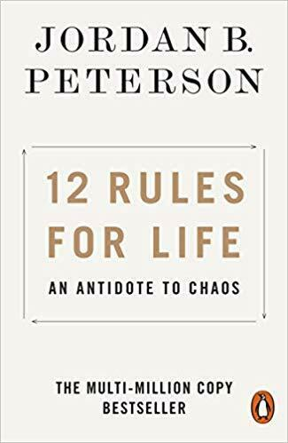 12 Rules for Life by Jordan B Peterson 0141988517 US ED FBS