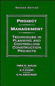 Project Management 2 ED by Hira N Ahuja 0471591688