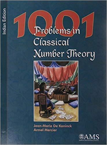 1001 Problems in Classical Number Theory by Jeanmarie De Konink 0821868888