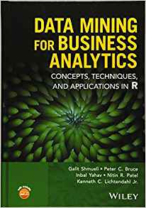 Data Mining for Business Analytics 1 ED by Galit Shmueli 1118879368