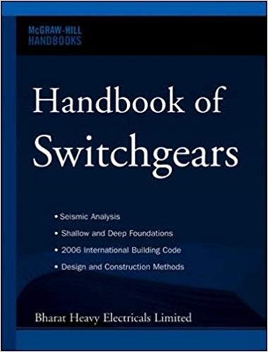 Handbook of Switchgears 1 ED by Bharat Heavy Electricals Limited 0071476962