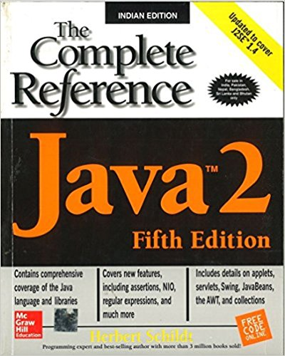 Java 2 The Complete Reference 5 ED by Herbert Schildt 0072224207