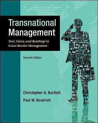 Transnational Management 7e 0078029392 Beamish ET