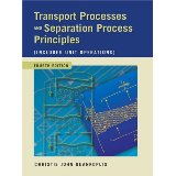 Transport Processes and Separation Process Principles 4e 013101367X