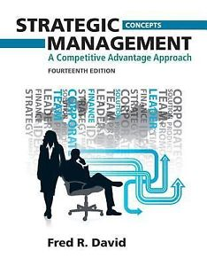 Strategic Management 14e 0132666219 David