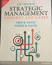 Strategic Management 15e 0133444791 David