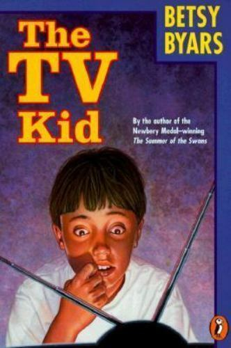 The TV Kid by Betsy Byars 0140388265 US ED FBS