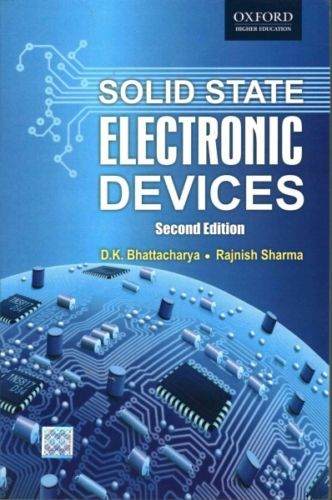 Solid State Electronic Devices 2 ED by Rijnish Sharma 0198084579