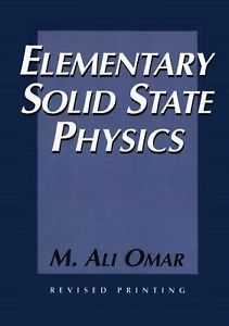Elementary Solid State Physics 4e 0201607336 Omar
