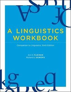 A Linguistics Workbook 6e 0262514826 Farmer