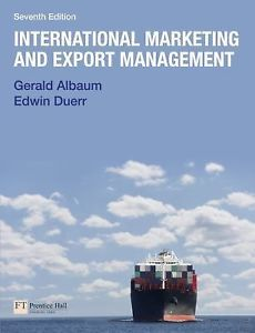 International Marketing and Export Management 7e 0273743880 Albaum