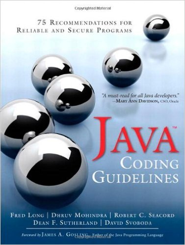 Java Coding Guidelines 1e 032193315X Long