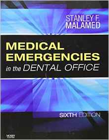 Medical Emergencies in the Dental Office 6e 032304235X Malamed