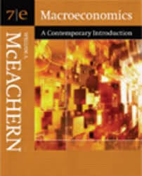 Macroeconmics 7 ED by William A McEachern 0324322534