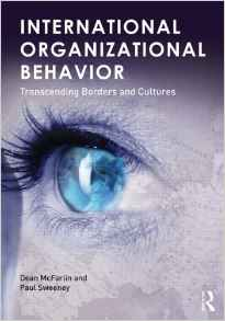 International Organizational Behavior 1e 0415892562 Sweeney