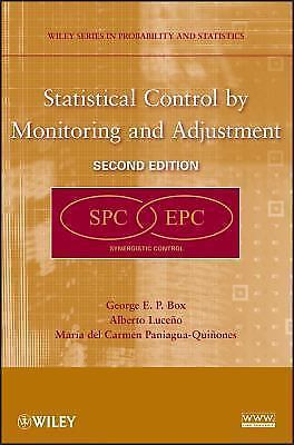 Statistical Control by Monitoring and Adjustment 2 ED by George E P Box 0470148322