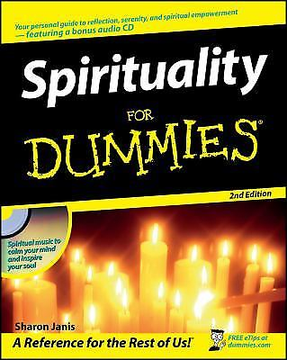 Spirituality for Dummies 2 ED by Sharon Janis 0470191422