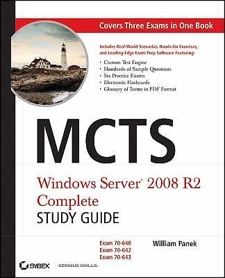 MCTS Windows Server 2008 R2 Complete 1 ED by William Panek 0470948469