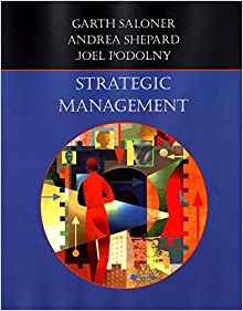 Strategic Management 1 ED by Joel Podolny 0471380717