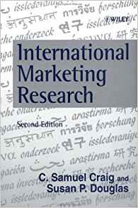 International Marketing Research 2 ED by Susan P Douglas 0471983225