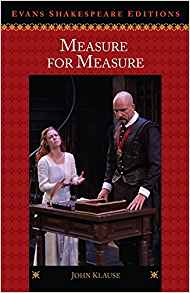 Measure for Measure 1 ED by John Klause 0495911216