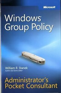 Windows Group Policy 1e 0735626766 Stanek