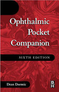 Ophthalmic Pocket Companion 6 ED by Dean Dornic 0750673818
