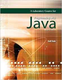 A Laboratory Course for Programming with Java 2e 0763758272 Dale