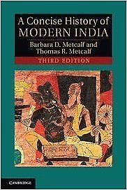 A Concise History of Modern India 3 ED by Paul C Metcalf 1107619122