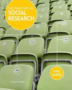 The Practice of Social Research 13e 1133049796 Babbie