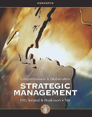 Strategic Management 10 ED by Michael A Hitt 1133495230