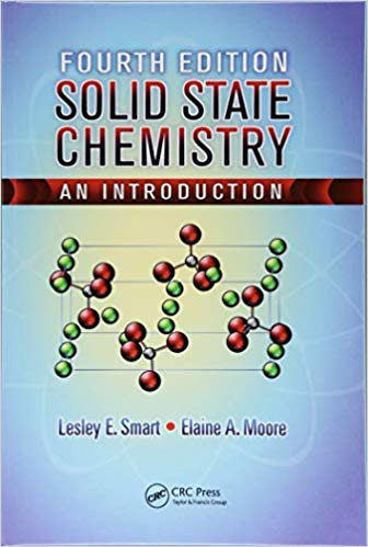 Solid State Chemistry 4 ED by Lesley E Smart 1138435465