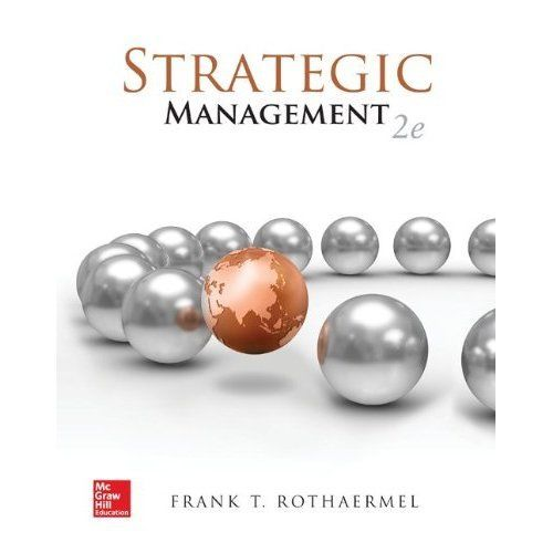 Strategic Managemen 2e 1259184994 Rothaermel ET