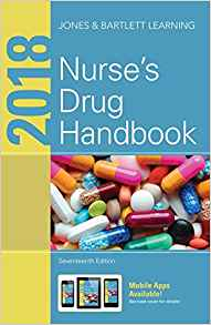 2018 Nurses Drug Handbook 17 ED by Jones and Bartlett Learning 1284121348