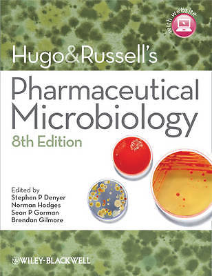 Hugo and Russells Pharmaceutical Microbiology 8 ED by Stephen P Denyer 1444330632