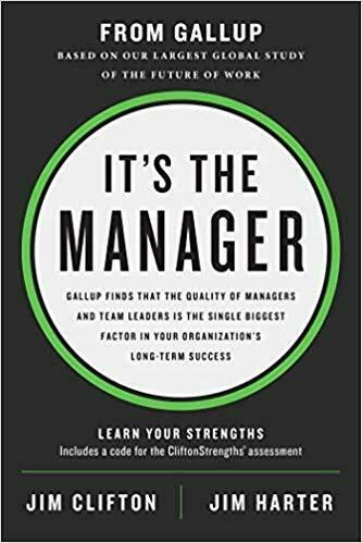 Its the Manager by Jim Clifton 1595622241 US ED FBS