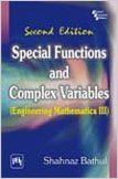 Special Functions and Complex Variables 2e 8120341937 Shahnaz