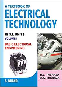 A Textbook of Electrical Technology 23 ED Vol 1 by B K Therja 8121924405