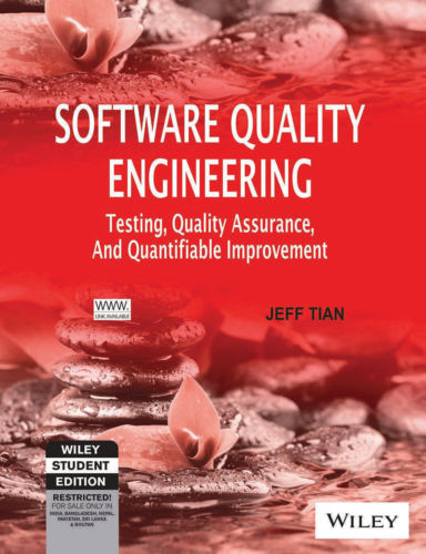 Software Quality Engineering 1 ED by Jeff Tian 8126508051