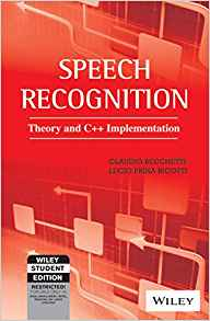Speech Recognition 1 ED by Claudio Becchetti 8126517743