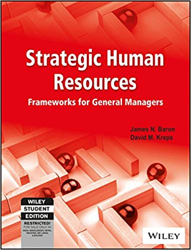 Strategic Human Resources 3 ED by David M Kreps 812652491X
