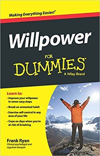 Willpower for Dummies 1 ED by Frank Ryan 8126552190