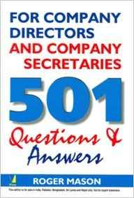 501 Questions and Answers by Roger Mason 8130902591