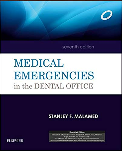 Medical Emergencies in the Dental Office 7 ED by Stanley F Malamed 8131243052