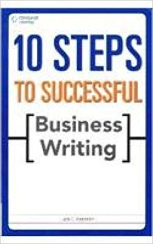 10 Step to Successeful Business Writing 1 ED by Appleman J E 8131515001