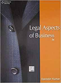 Legal Aspects of Business 3 ED by Ravinder Kumar 813152051X