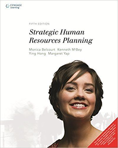 Strategic Human Resources Planning 5 ED by Monica Belcourt 8131527808