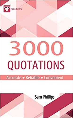 3000 Quotations 1 ED by Sam Phillips 8172450087
